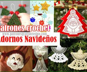Adornos Navideños a Crochet / Patrones
