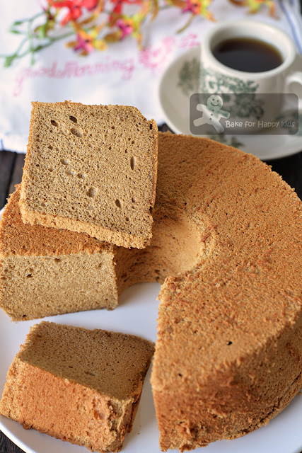 coffee milk chiffon cake