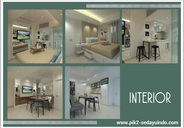 Tokyo Riverside Apartment PIK 2 Room Design