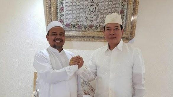 Tommy Soeharto Bertemu HRS di Mekkah, Begini Isi Pembicaraannya