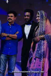 Dileep at Asif Ali's marriage reception