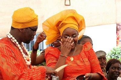 Nigerian Colourful Wedding fashion