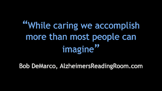 Alzheimer's Vision While Caring | Alzheimer's Reading Room