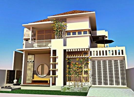 Gambar Denah Rumah 2 Lantai Minimalis