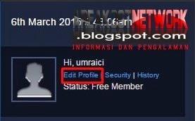 Lengkapi Profil Kamu