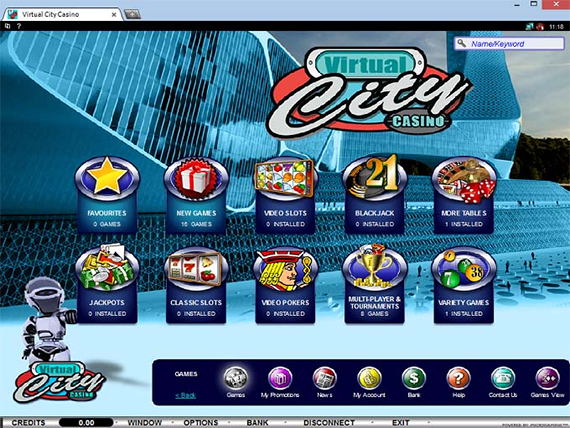Virtual City Casino Online