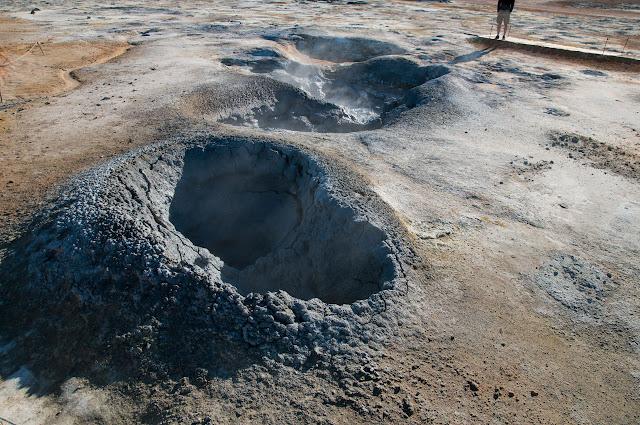 Cráter en Hverir