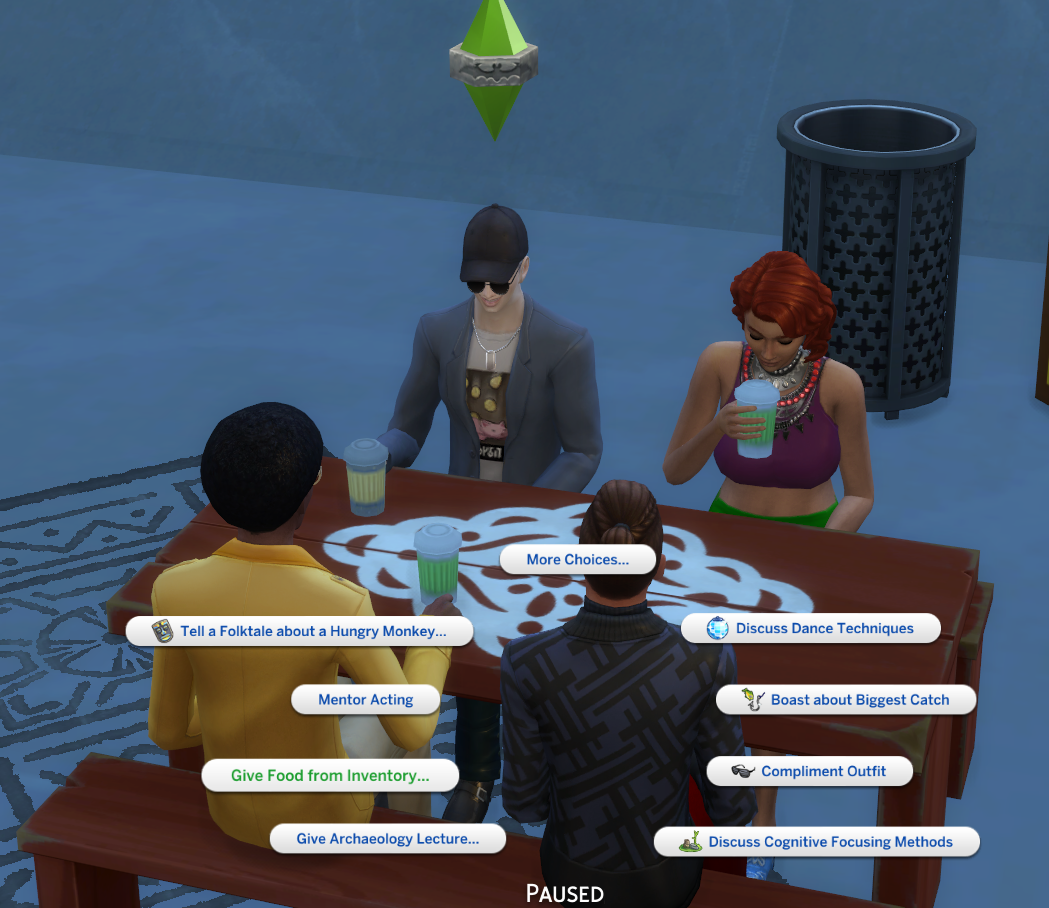 Give Food From Inventory? — The Sims Forums