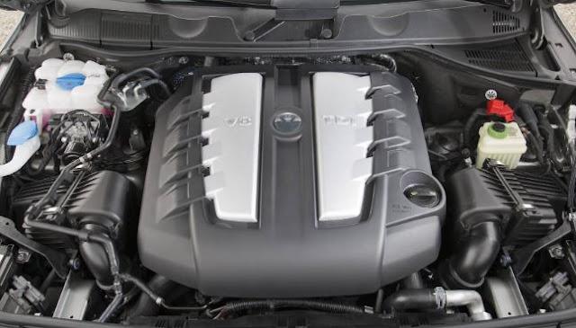 2018 VW Touareg Engine