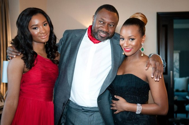 femi otedola and dj cuppy