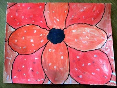 Thanksgiving Art: Remembrance on the Virtual Refrigerator, an art link-up hosted by Homeschool Coffee Break @ kympossibleblog.blogspot.com #VirtualFridge #art