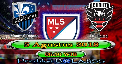 Prediksi Bola855 Montreal Impact vs DC United 5 Agustus 2018