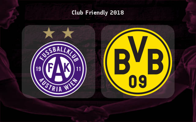 Austria Wien vs Borussia Dortmund Full Match Replay 13 July 2018