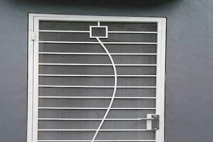 Harga Berbagai Macam Pintu Kawat Nyamuk Besi Minimalis [Harga Update]