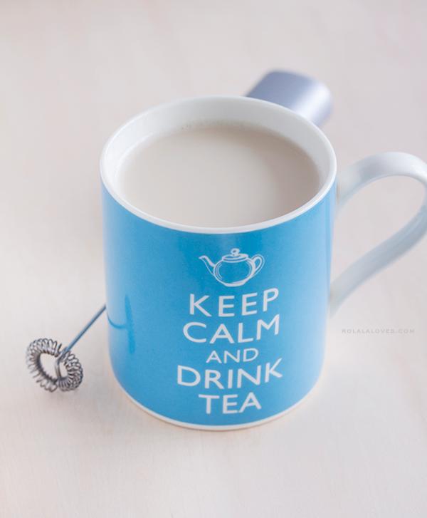 London Fog Tea Latte, Earl Grey Latte Recipe