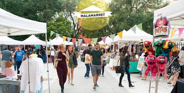 Malamarket productos de segunda mano y vintage este sábado