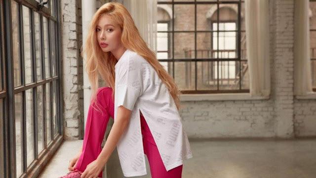 Jadi Model, Foto Seksi HyunA Hangat Dibicarakan Warganet