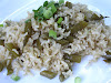 Spicy Brown Rice with Green Beans and Fresh Herbs
