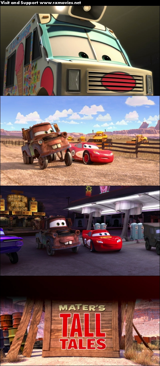 Cars Toons Maters Tall Tales 2010 Dual Audio Hindi 480p BluRay