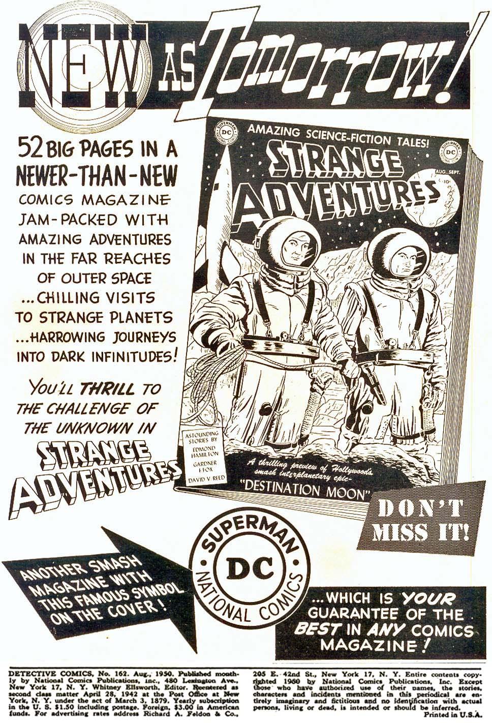 Read online Detective Comics (1937) comic -  Issue #162 - 2