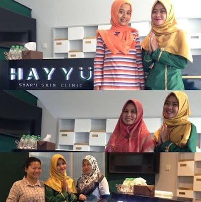 Daftar Kantor Cabang Klinik Kecantikan Syariah Hayyu Syar'i Skin Clinic Halal Sesuai Syariat Islam Muslimah