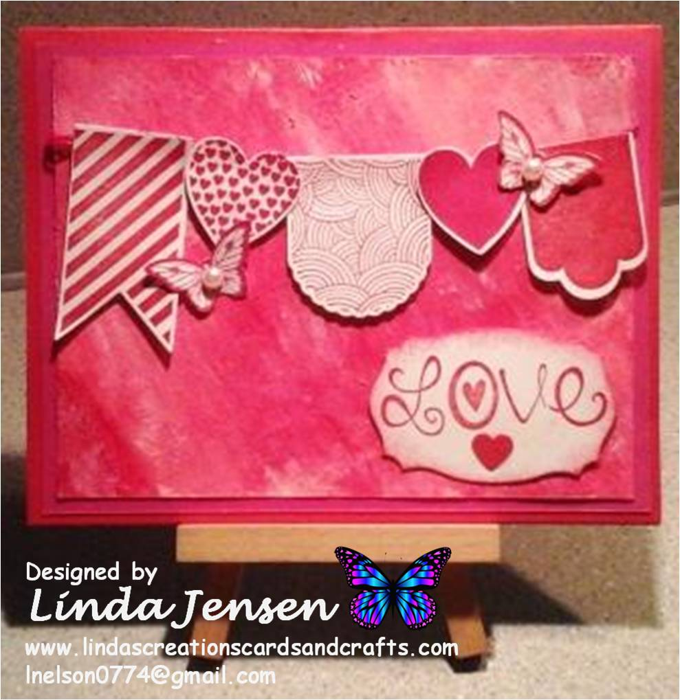 linda s creations cards crafts butterflies and love hearts a