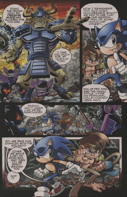 Read online Sonic The Hedgehog comic -  Issue #202 - 8