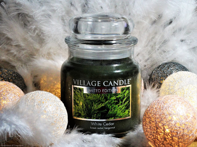 Avis White Cedar de Village Candle - blog bougie - blog parfum