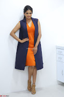 Priyamani in Beautiful Short Deep neck Orange Dress ~  Exclusive 09.JPG