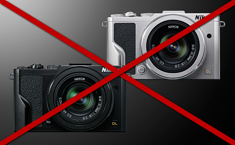 Отмена выпуска камер серии Nikon DL