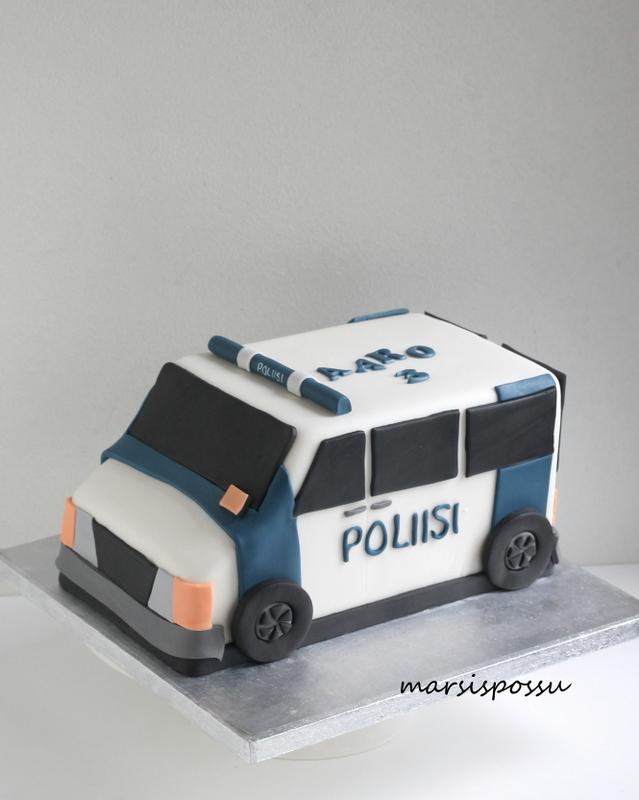 poliisiautokakku