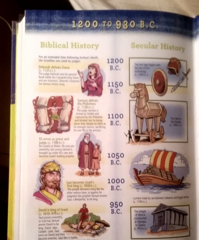 The NKJV Early Readers Bible sample page 3