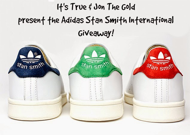 Giveaway| Adidas Stan Smith Sneakers! | It's True Blog