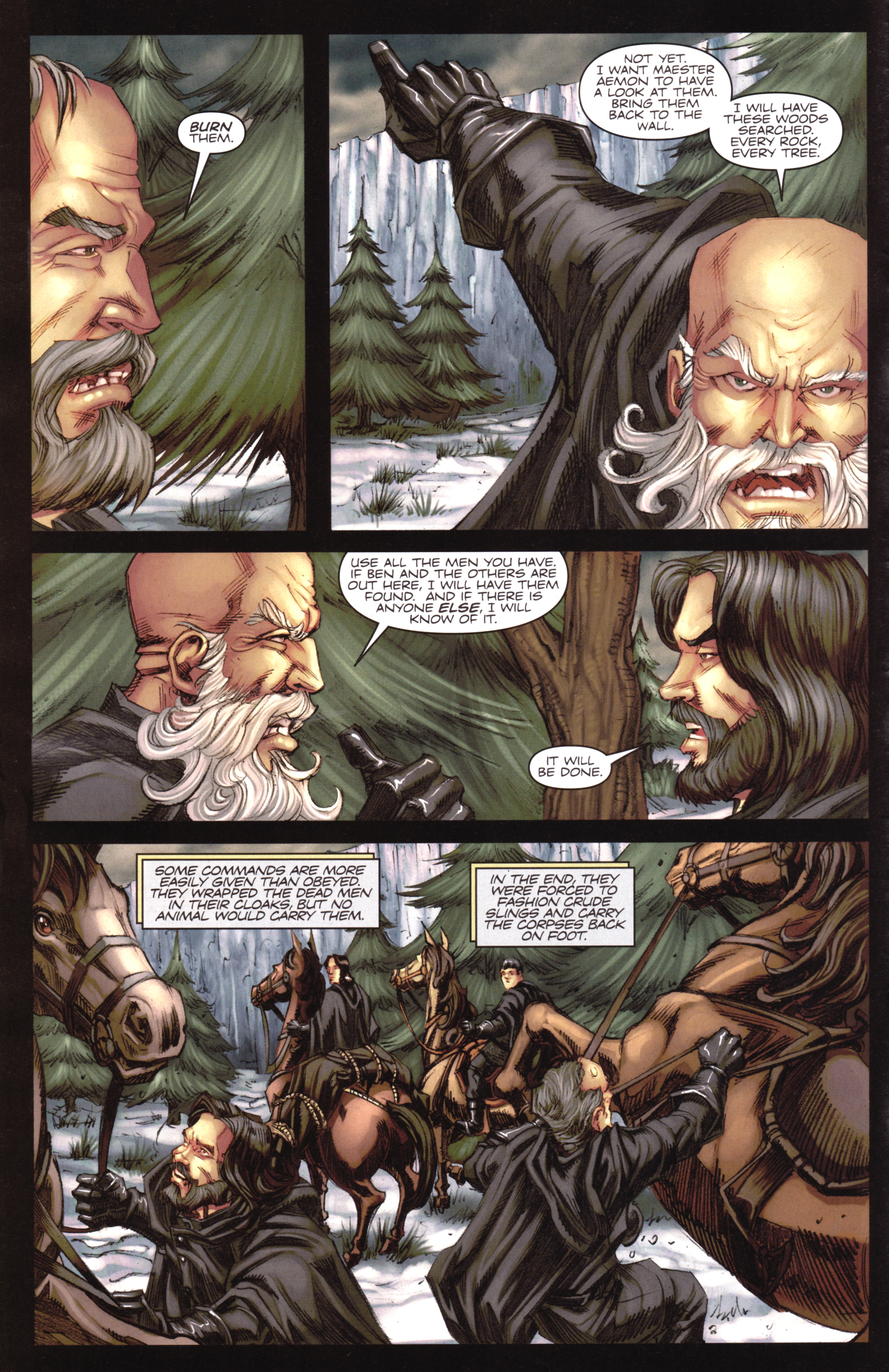 Read online A Game Of Thrones comic -  Issue #17 - 6