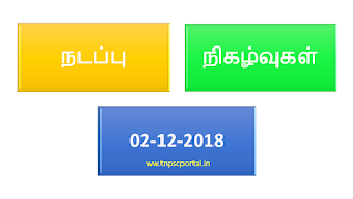 2-12-2018 current affairs in tamil