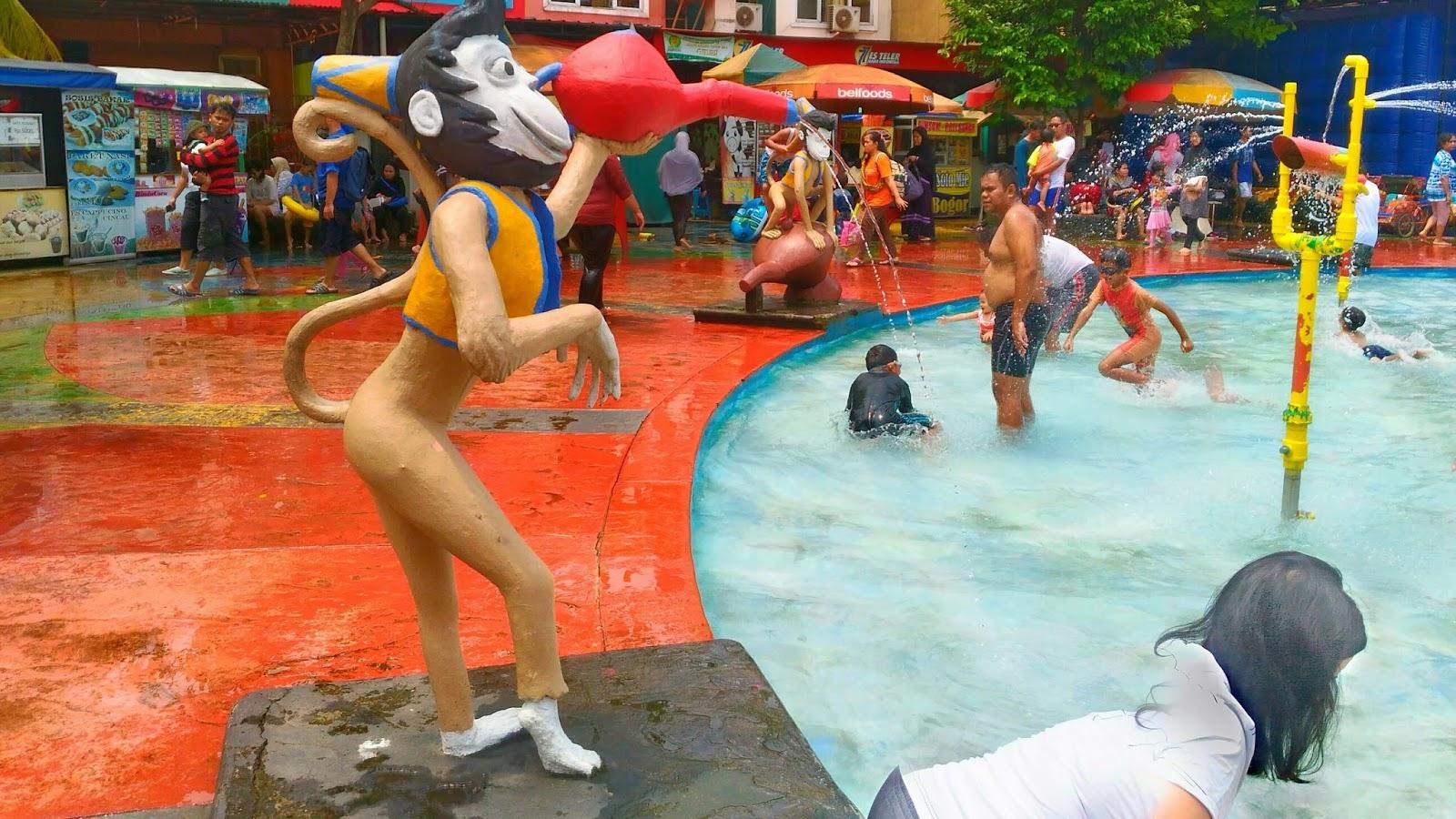 Wahana air Aladin hasil foto Zenfone 2 laser
