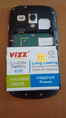 Baterai Double Power VIZZ untuk Samsung Galaxy