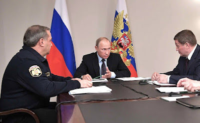 Vladimir Putin held a meeting with Emergencies Minister and heads of Volgograd and Rostov regions on relief measures following wildfires.