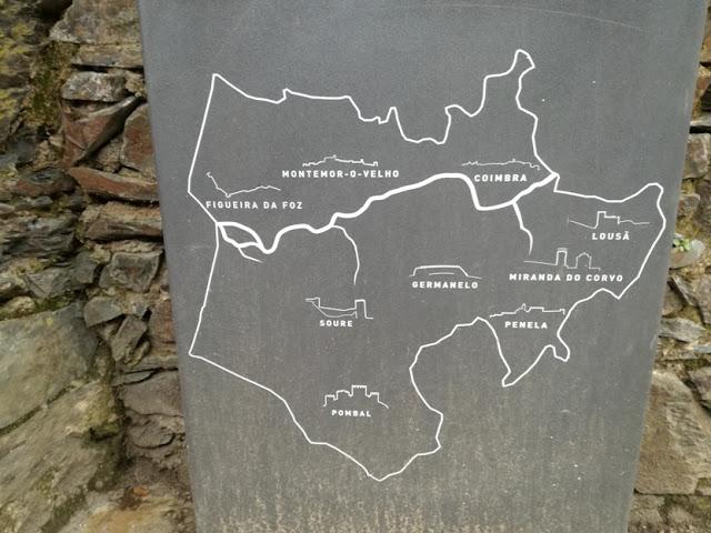 Placa dos Castelos e Muralhas do Mondego
