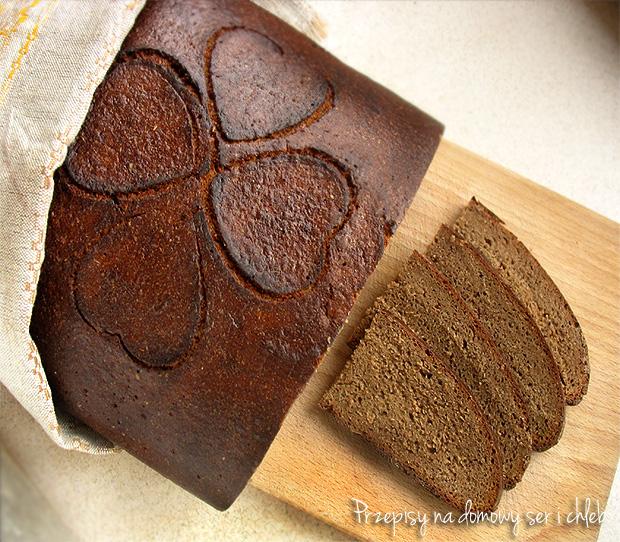 Chleb żytni pełnoziarnisty łatgalski (Łotwa)