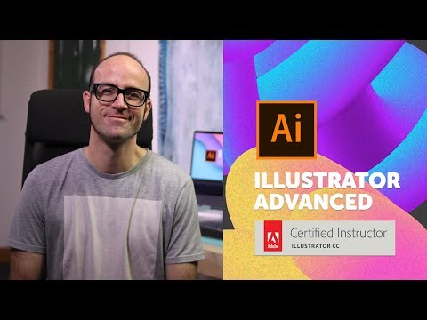 How to use The Liquify Tool and Vectorise Images - Adobe Illustrator CC