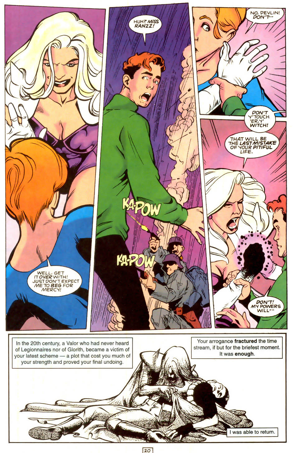 Legion of Super-Heroes (1989) 53 Page 20