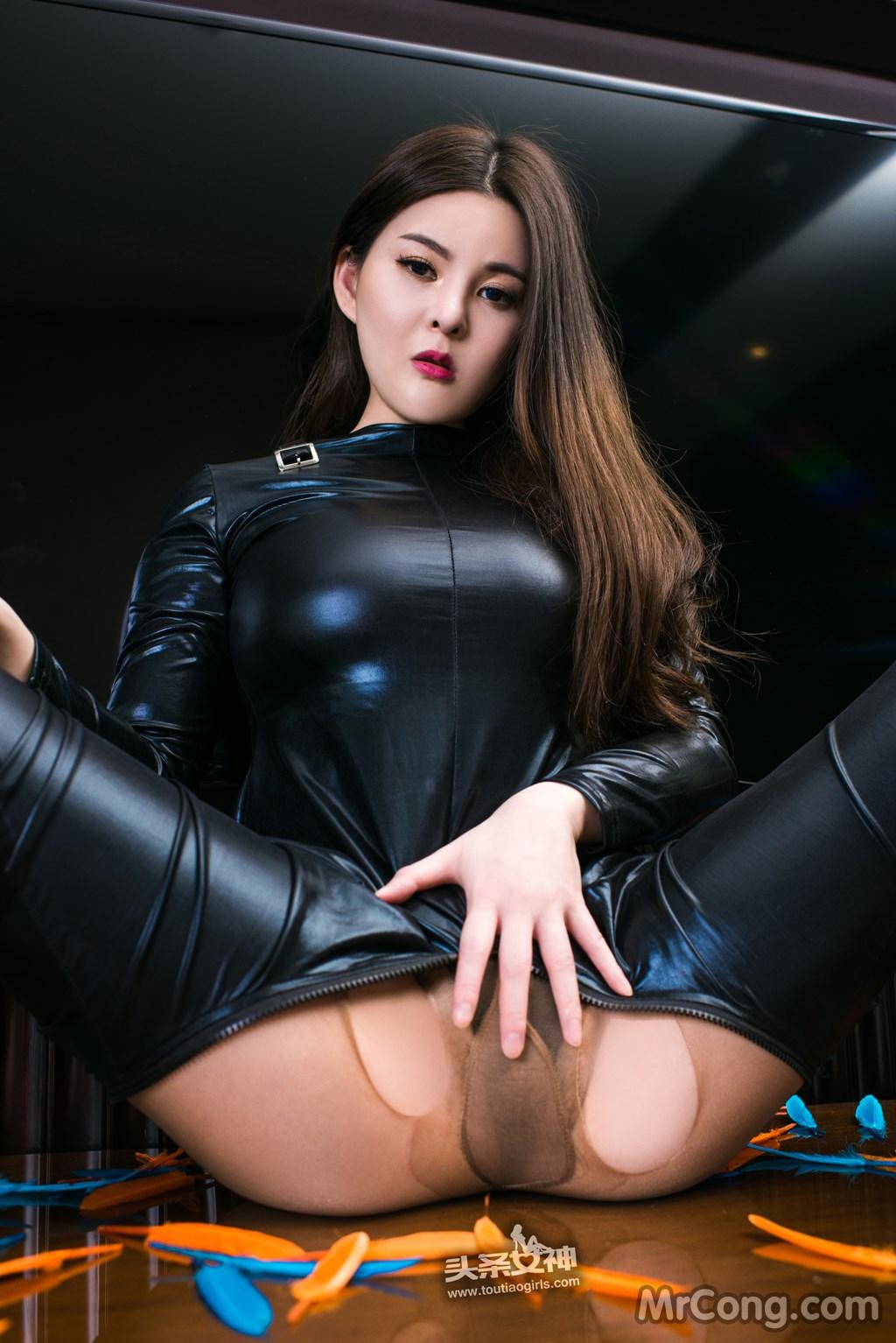 Image MrCong.com-TouTiao-2017-02-11-Tong-An-Qi-003 in post TouTiao 2017-02-11: Người mẫu Tong An Qi (童安琪) (27 ảnh)
