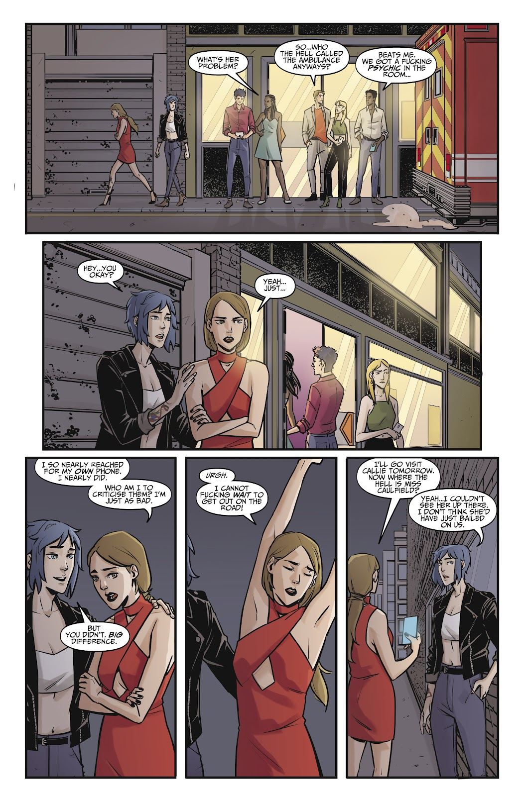 Read online Life is Strange comic -  Issue #8 - 16