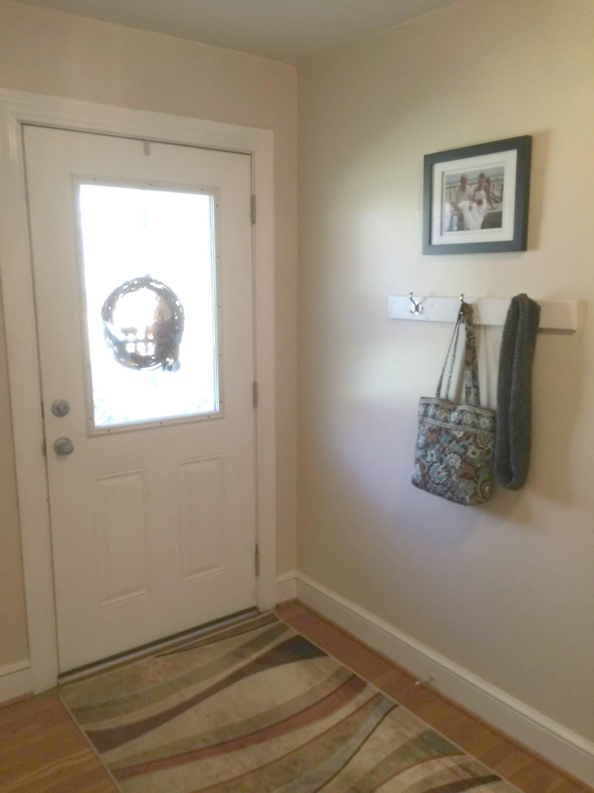 Front Door Coat Hooks Real Girl 39s Realm How To Create A Simple Coat Rack For