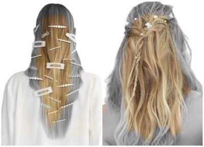 Horquillas para el pelo tendencias para ponerlas y hacerlas
