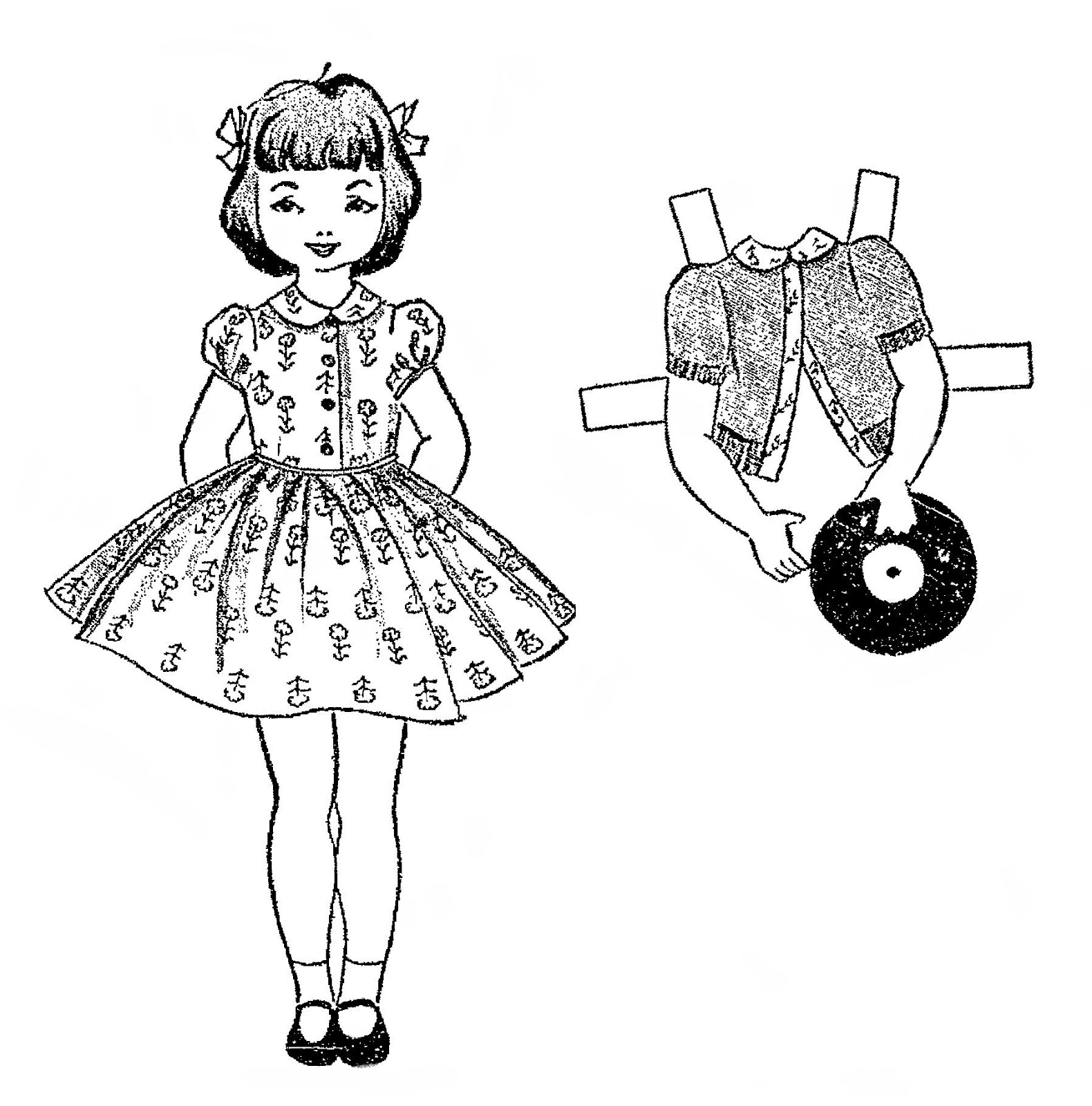 Mostly Paper Dolls Too!: Betsy McCall Cut Out and Color