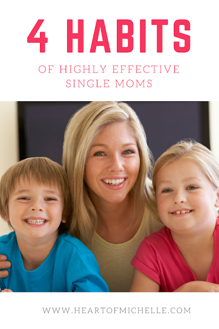 Life isn't easy for a single mom, but you can develop healthy habits to be an effective, successful single mom.