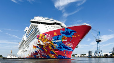 Dream Cruises - New Genting Dream at Meyer Werft, Papenburg, Germany