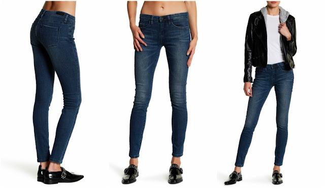 BlankNYC Mid Rise Dark Wash Skinny Jeans $37 (reg $88)